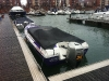 Honda powerboats moored in Eastbourne Marina