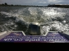 Vied of Rye harbour out the stern of honda Powerboat