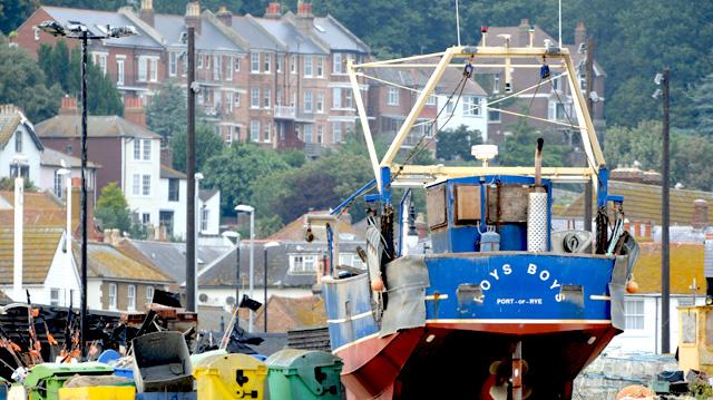 Hastings Harbour fishing fleet