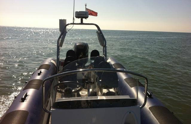 Rib charter Channel crossing