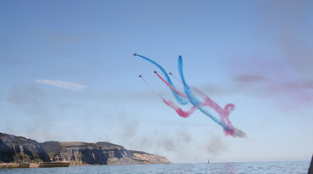 red arrows hastings castle