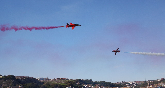 red arrows pirate day