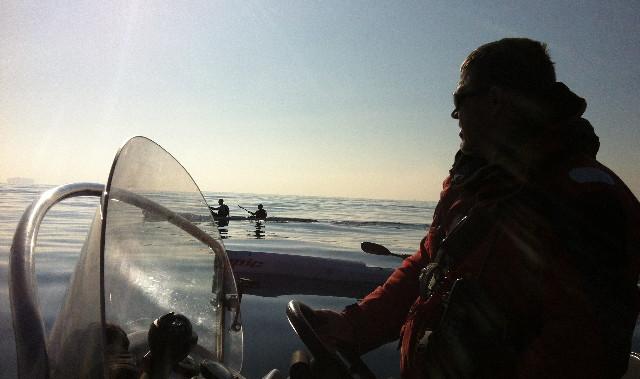 channel crossing pilot boat