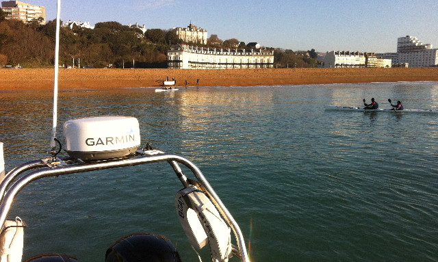 Youngest person to kayak the english channel