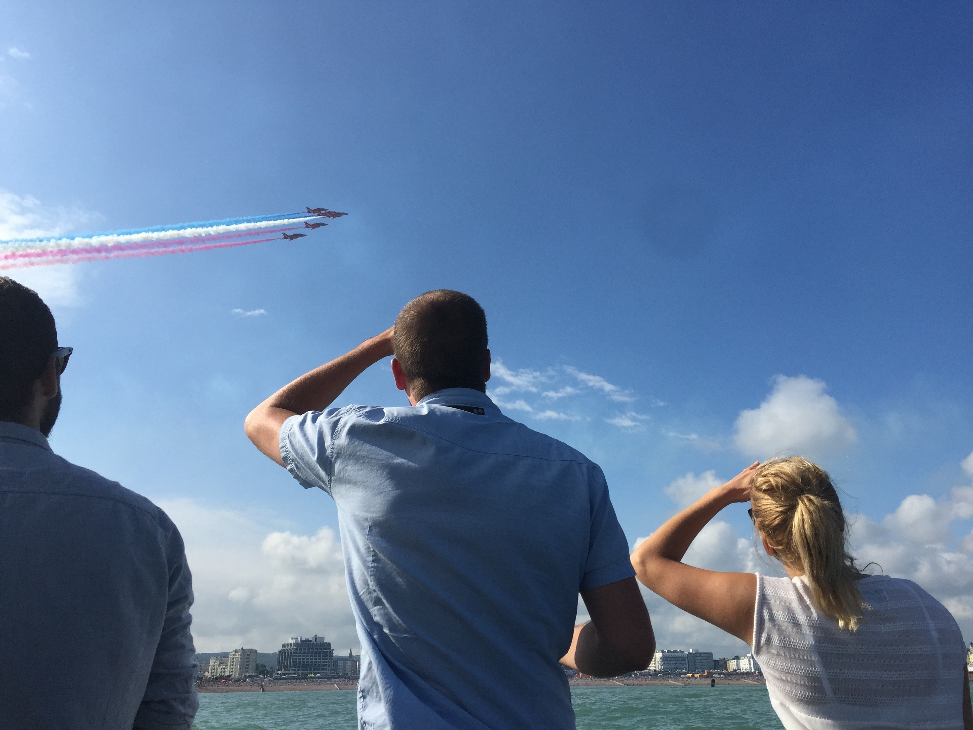 Red arrows Eastbourne Airshow